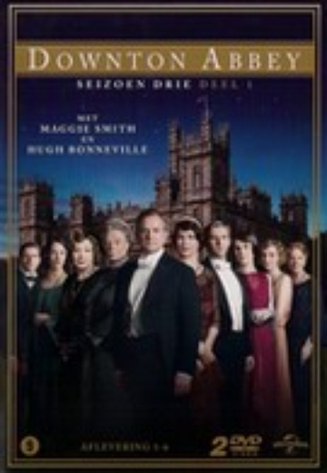 Downton Abbey - Seizoen 3 deel 1 cover