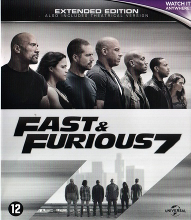 Furious Seven / Fast & Furious 7 cover