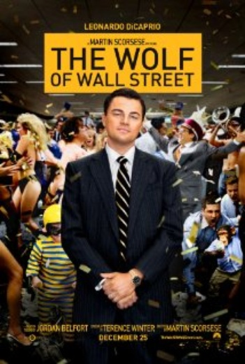 Wolf of Wall Street, the cover