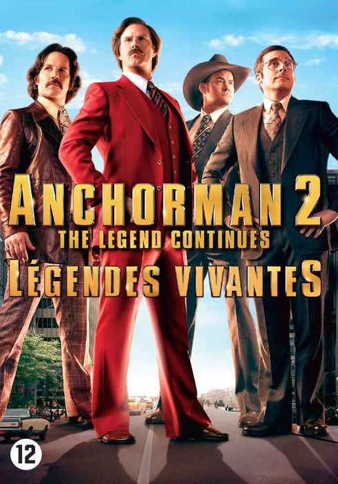 anchorman 2 the legend continues dvd allesoverfilmnl