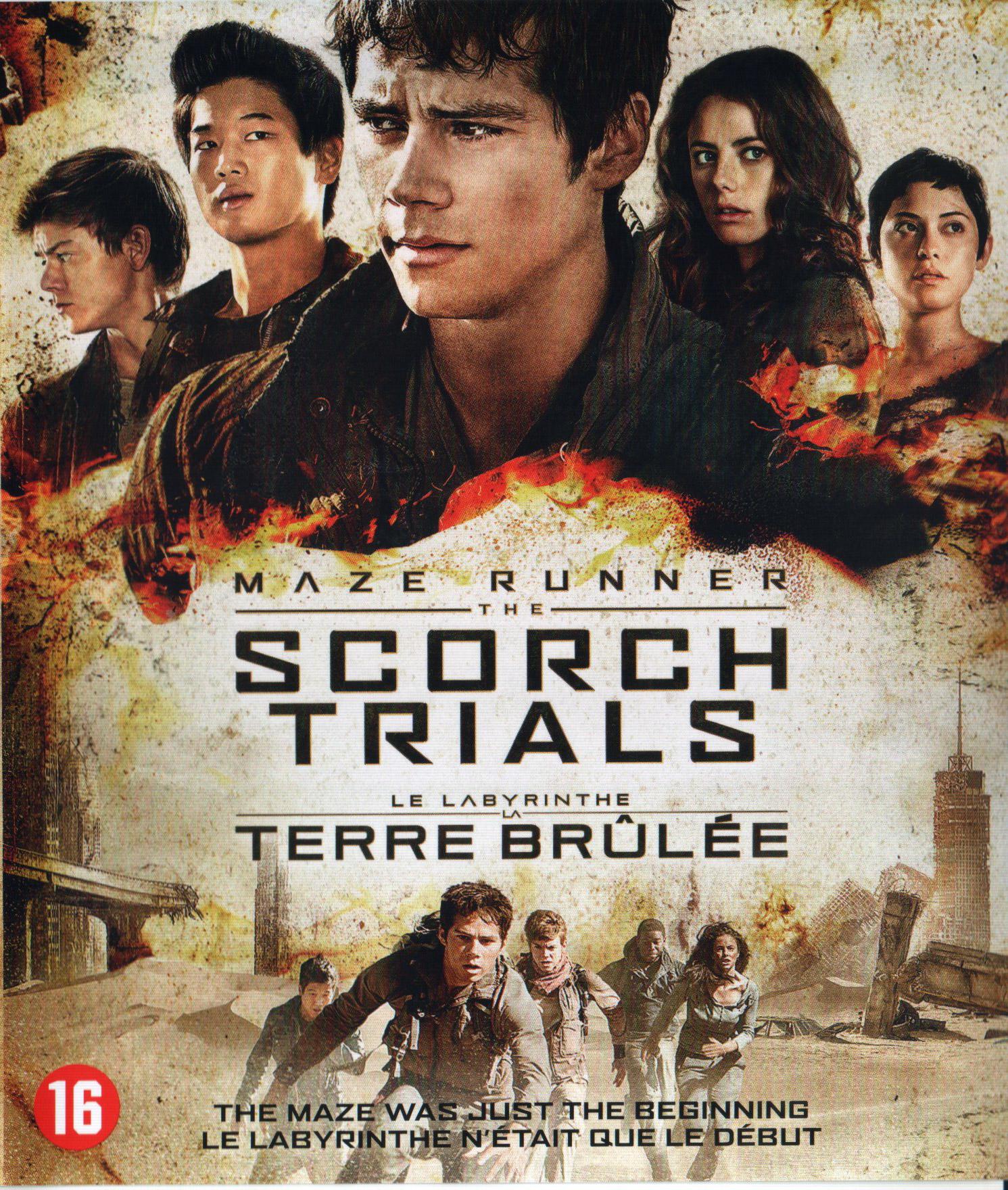 Maze Runner: The Scorch Trials (Blu-ray) - Allesoverfilm