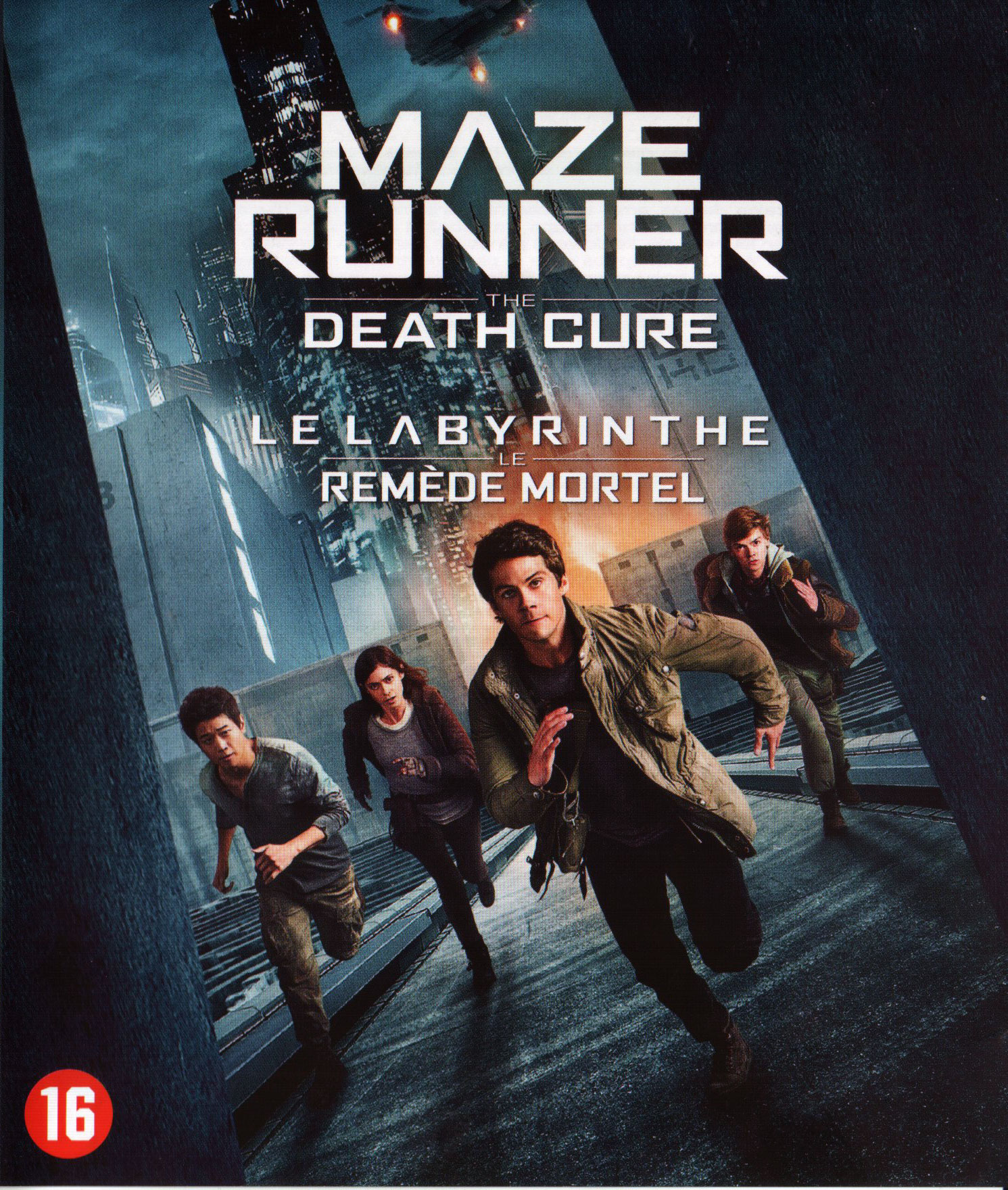 Star Wars The Last Jedi Poster >> Maze Runner: The Death Cure (Blu-ray) - Allesoverfilm.nl | filmrecensies, hardware reviews ...
