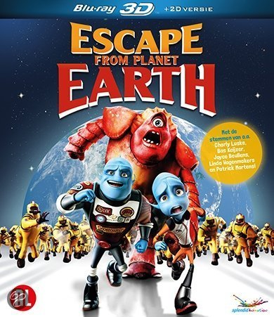Escape From Planet Earth DVD Cover - Pics about space