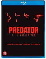 The predator 1-4 Blu-ray box