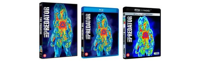 The Predator DVD Blu-ray UHD