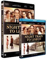 Night Train to Lisbon DVD Blu-ray Disc