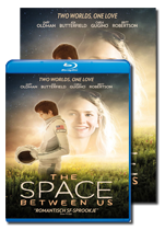 The Space Between Us DVD & Blu ray