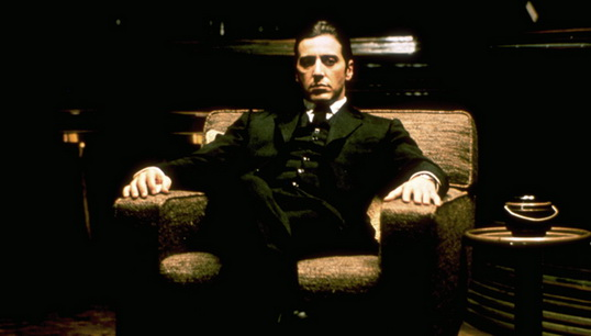 Michael Corleone uit The Godfather