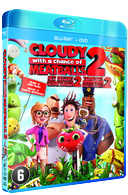 Cloudy with a Change of Meatballs 2 Blu ray