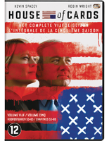 House of Cards Seizoen 5 DVD