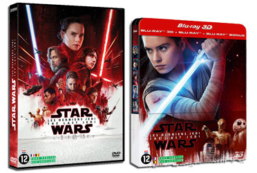 The Last Jedi 3D Steelbook DVD
