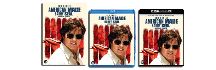 American Made DVD, Blu-ray, UHD