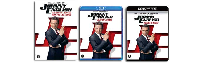 Johnny English Strikes Again DVD, Blu-ray UHD