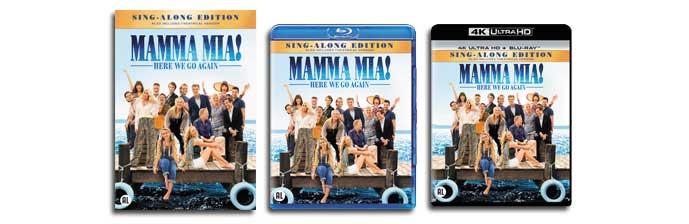 Mamma Mia 2 Here We Go Again Vanaf 21 November Op Vod Dvd Blu