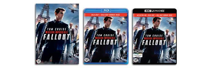 Mission Impossible: Fallout DVD, Blu-ray UHD