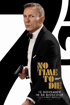 No Time To Die poster James Bond