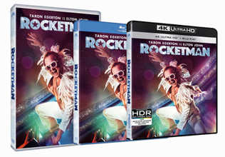 Rocketman DVD, Blu-ray, UHD