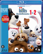 Secret Life of Pets 1 & 2 Blu ray