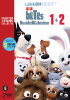 Secret Life of Pets 1 & 2 DVD