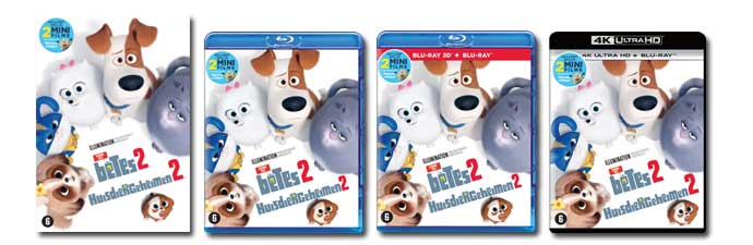 Secret Life of Pets 2 DVD, Blu-ray, UHD