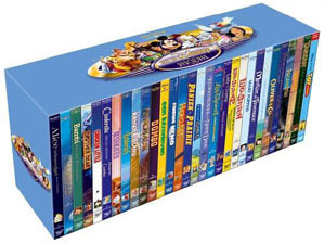 walt disney classic dvd box set collection. Black Bedroom Furniture Sets. Home Design Ideas
