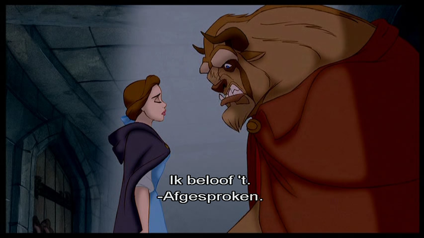 Belle en het Beest / Beauty and the Beast (SE) (DVD ...