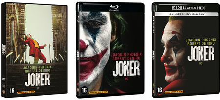 Joker DVD, Blu-ray, UHD